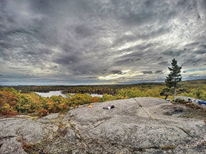 Kearney Lake Hiking Trails in Halifax's Blue Mountain-Birch Cove Lakes Wilderness