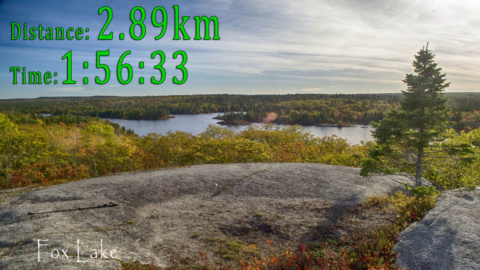 Fox Lake Trail in Halifax's Blue Mountain-Birch Cove Lakes Wilderness
