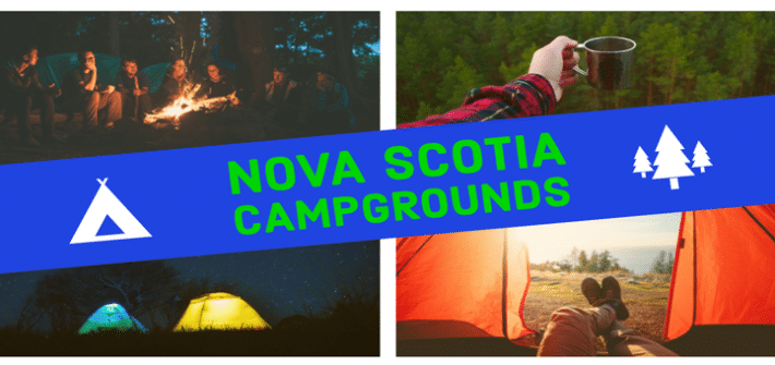 Nova Scotia campgrounds map and guide