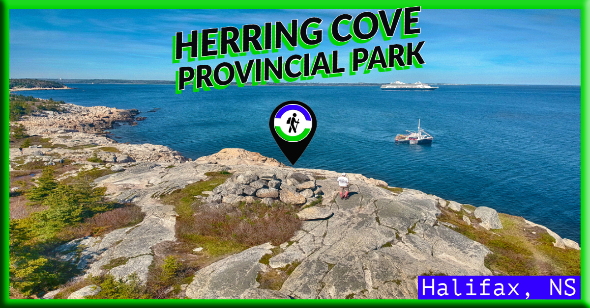 Herring Cove Provincial Park in Halifax, NS
