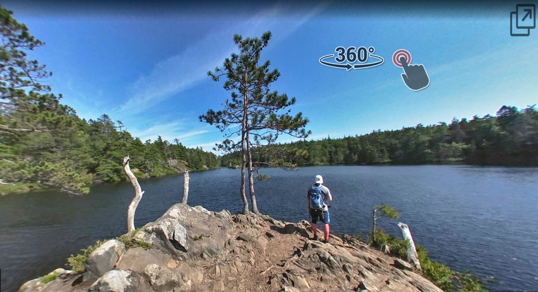 Kearney Lake Hiking Trails Blue Mountain Birch Cove map fox hobson charlie ashHalifax Nova Scotia