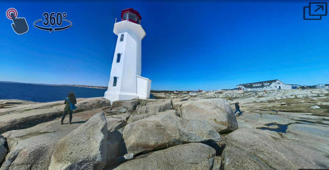 Peggy's Cove lighthouse Halifax Nova Scotia directions