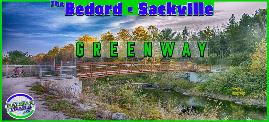 The Bedford-Sackville Greenway Trail Map & Guide
