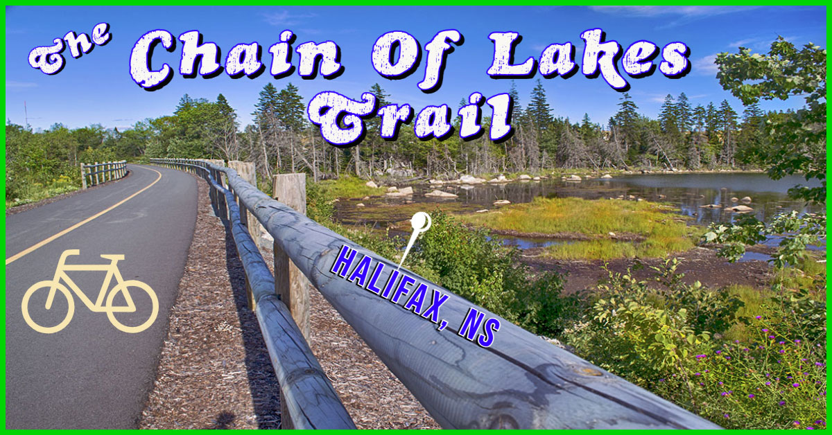 Chain Of Lakes Trail in Halifax, NS