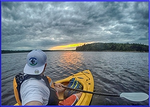 canoe, kayak, paddling long lake halifax