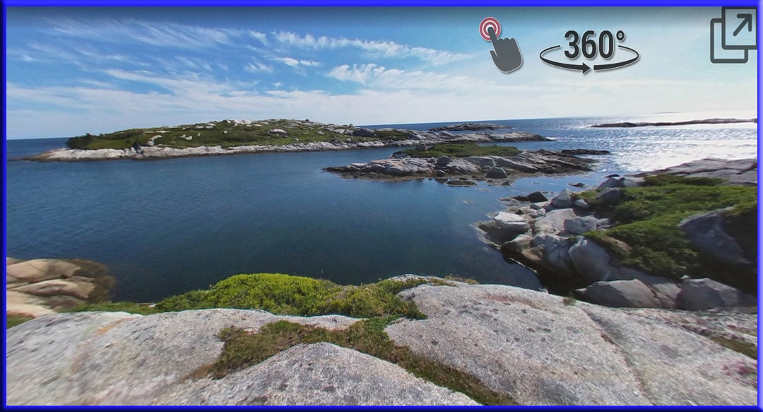 Polly's Cove Hiking Trail Halifax Nova Scotia