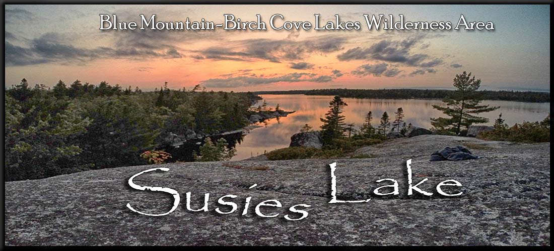 Susies Lake in Halifax's Blue Mountain-Birch Cove Lakes Wilderness Area