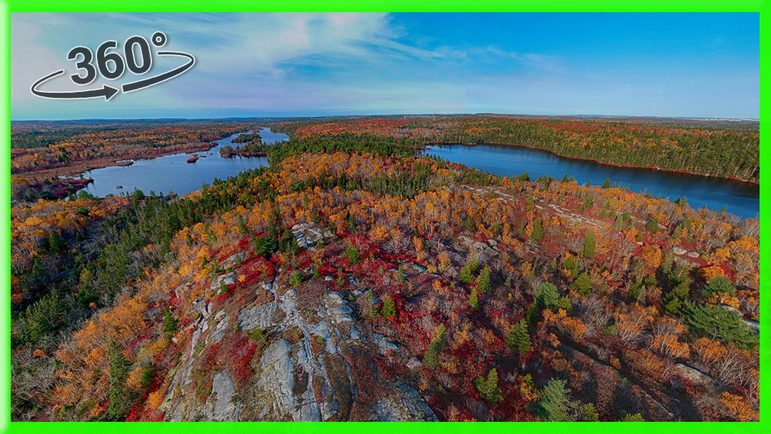 The Bluff Wilderness Hiking Trail in Halifax, Nova Scotia