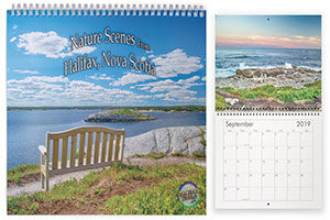Nova Scotia wall calendar