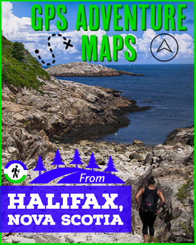 Halifax, Nova Scotia Hiking Trail GPS Maps