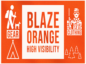 High Visibility Blaze Orange Safety Gear